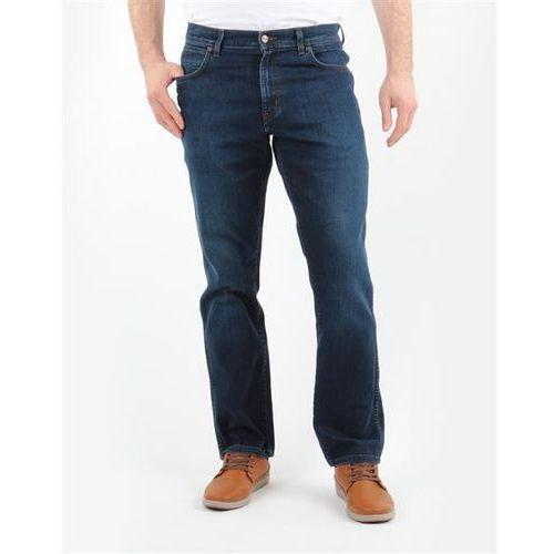 Spodnie Męskie Wrangler 1215166E Texas Stretch CLASSIC BLUES