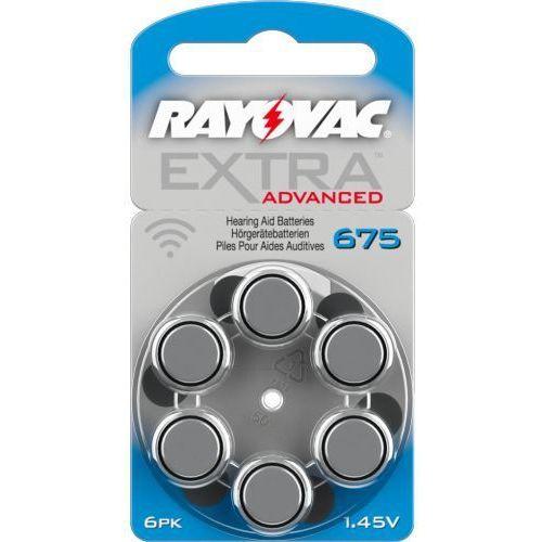6 x baterie do aparatów słuchowych Rayovac Extra Advanced 675 MF, RAY22