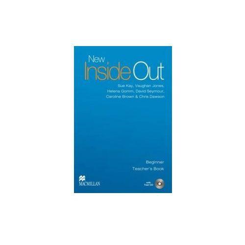 New Inside Out Beginner Książka Nauczyciela + Test CD (2007)