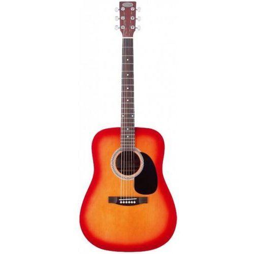 sw207 cs pack gitara akustyczna z wyposażeniem marki Stagg