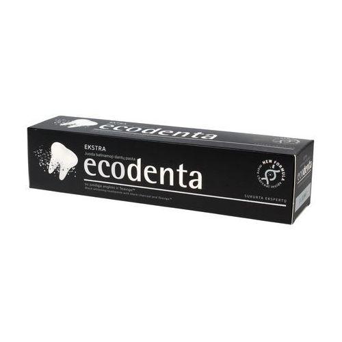 czarna wybielająca pasta do zębów, 100 ml - ecodenta marki Ecodenta