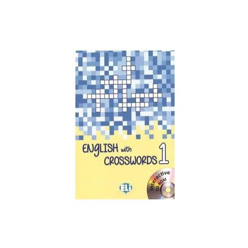 English with crosswords 1 + DVD (9788853619099)