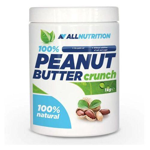 100% peanut butter masło orzechowe crunchy 1kg marki Allnutrition
