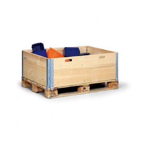 B2b partner Nadstawka paletowa drewniana, 1200x800x400 mm