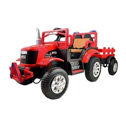 Mega Traktor Large na akumulator z przyczepką (5903641565455)