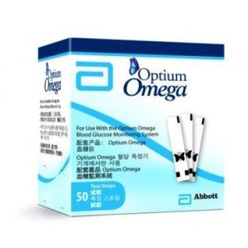 OPTIUM OMEGA paski testowe x 50 sztuk (pasek testowy)