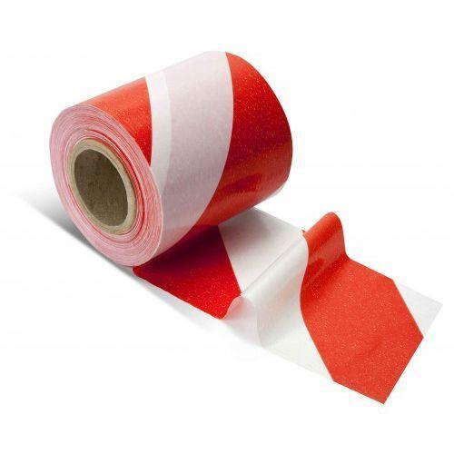 Grupa morado Taśma wygrodzeniowa biało czerwona