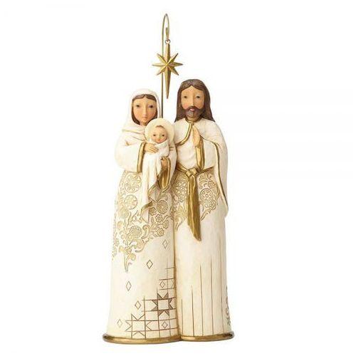 """Święta rodzina """"spójrz i uwierz"""" behold & believe (golden garland holy family) 4058762 figurka ozdoba świąteczna marki Jim shore"""