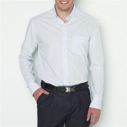 Koszula bawełniana z długim rękawem, rozmiar 2 - sprawdź w La Redoute