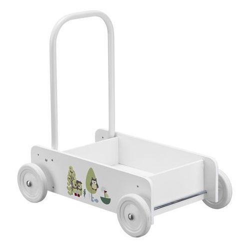 Kids Concept Pchacz Drewniany Biały - sprawdź w Jedyny Sklep