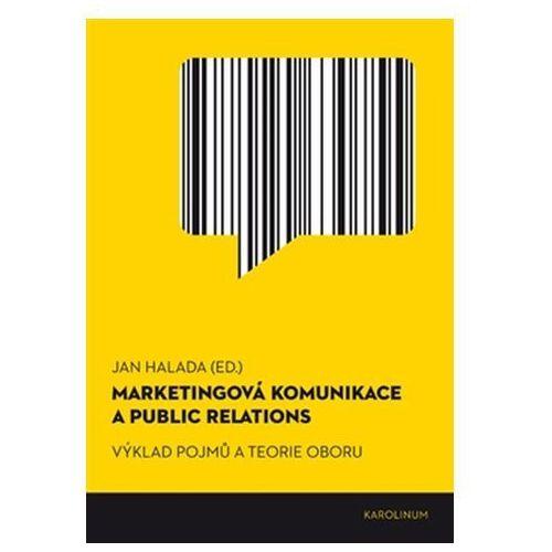 Marketingová komunikace a public relations Jan Halada (9788024630755)