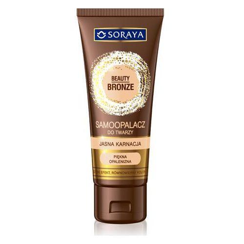 Soraya beauty bronze 75ml samoopalacz do twarzy jasna karnacja (5901045018737)