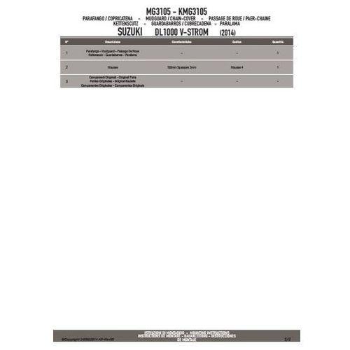 Kappa kmg3105 błotnik tylny suzuki dl 1000 v-storm (14)