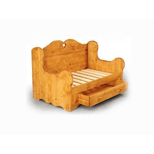 Sofa z drewna świerkowego Mexicana 1 ze sklepu Seart - Meble z Drewna