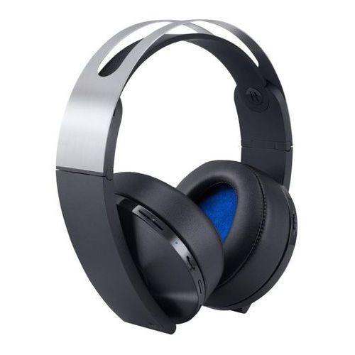 Sony Słuchawki ps4 platinum wireless headset + zamów z dostawą w poniedziałek! + darmowy transport!