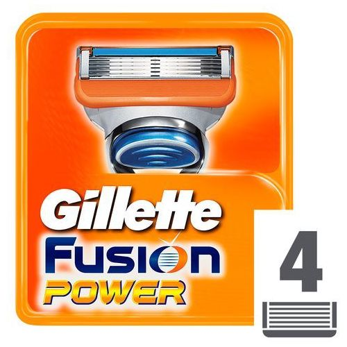 Wkłady do maszynek gillette fusion power (4 sztuki) marki Procter & gamble