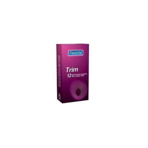 Prezerwatywy trim lepiej przylegają 12 szt. 8351 marki Pasante