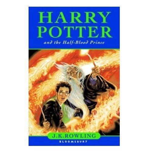 Harry Potter and the Half-Blood Prince, oprawa twarda