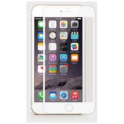 Jcpal Szkło hartowane dla iphone 6 na cały ekran (biała ramka) - perfect glass - czarny