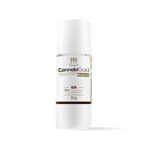 Olejek konopny 10% CBD 1000mg (5% CBD + 5% CBDa) - 10g CannabiGold Balance