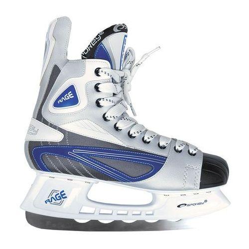 Łyżwy hokejowe SPOKEY Rage 40 - oferta [05f6df43238fc398]