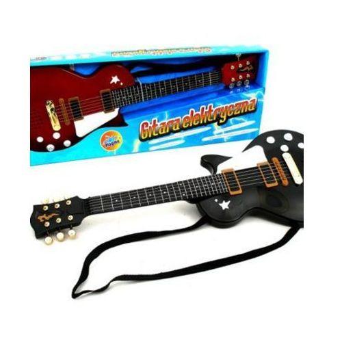 Gitara rockowa ze strunami