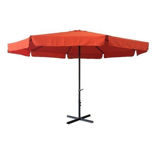 Rojaplast parasol ogrodowy z rączką 300cm terracotta