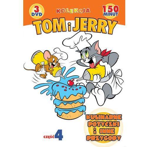 Galapagos films Tom i jerry: kulinarne potyczki i inne przygody. kolekcja - część 4 (3xdvd) - galapagos