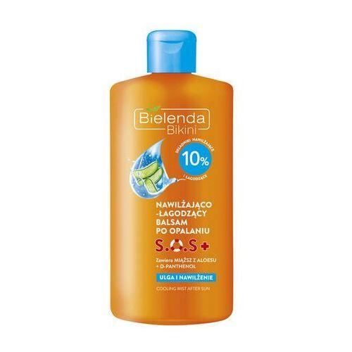 Bielenda Bikini SOS + balsam nawilżająco kojący po opalaniu (Panthenol, Aloe Barbadensis Leaf Juice Powder, Seed Oil) 150 ml (5902169020101)