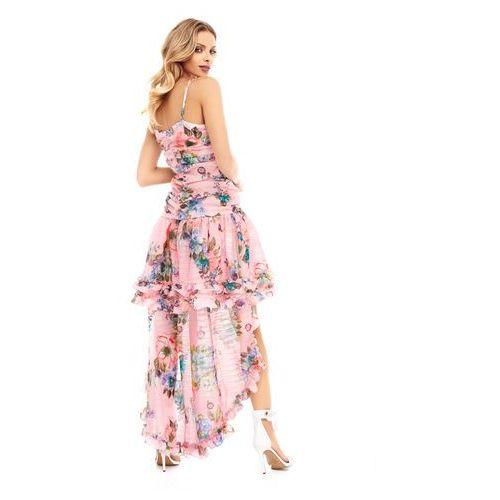 Sukienka Lilly w kolorze różowym, kolor różowy