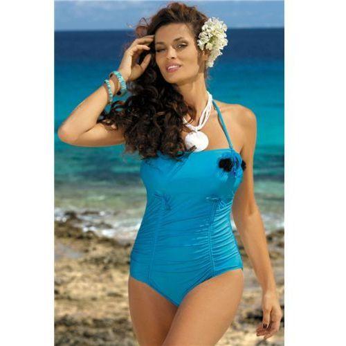 3f5544831294f0 Kostium kąpielowy Shila Turchese M-202 Niebieski (193), kolor niebieski  109,90 zł zniewalający jednoczęściowy kostium kąpielowy wyprodukowany z  lekko ...
