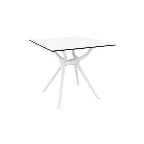 Designerski stół do salonu Siesta Air 80 biały