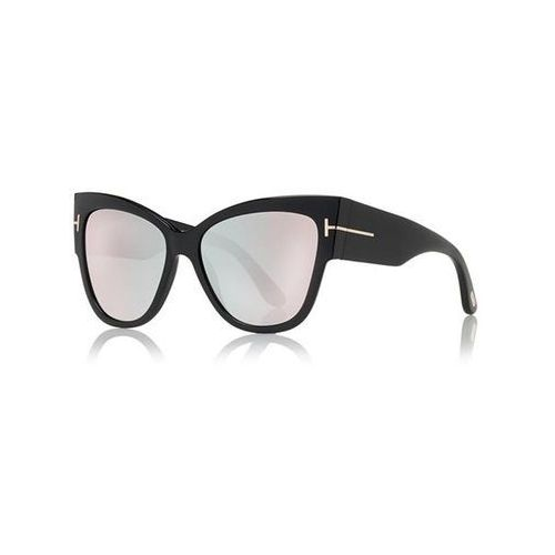 Okulary słoneczne ft0371-f asian fit anoushka flash lenses 01z marki Tom ford