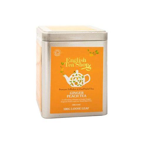 English tea shop Ets ginger peach tea 100 g puszka