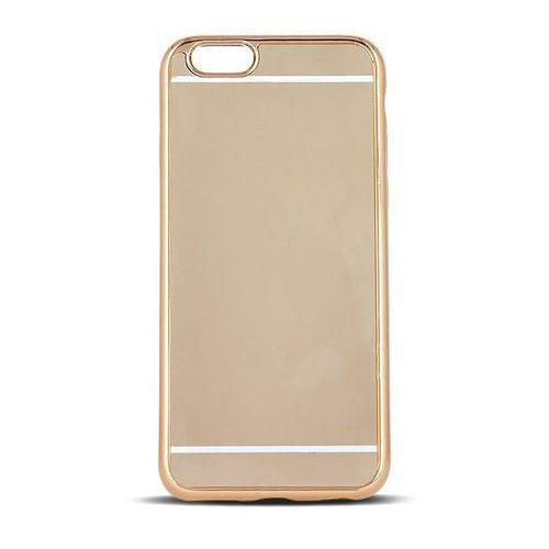 Beeyo Nakładka Mirror TPU do Samsung S6 G920 złota (GSM023819) Darmowy odbiór w 20 miastach! (5900495508188)