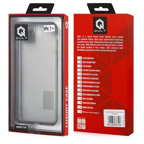 Qult Etui back case clear luxury do iphone 8