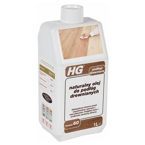 Hg naturalny olej do podłóg drewnianych chroniący przed plamami