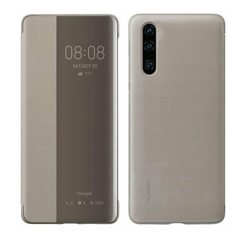 Huawei P30 Smart View Cover - Khaki, 49404 (11888262)