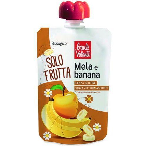 Mus z jabłek i bananów BIO 100 g Baule Volante, 8018848017656