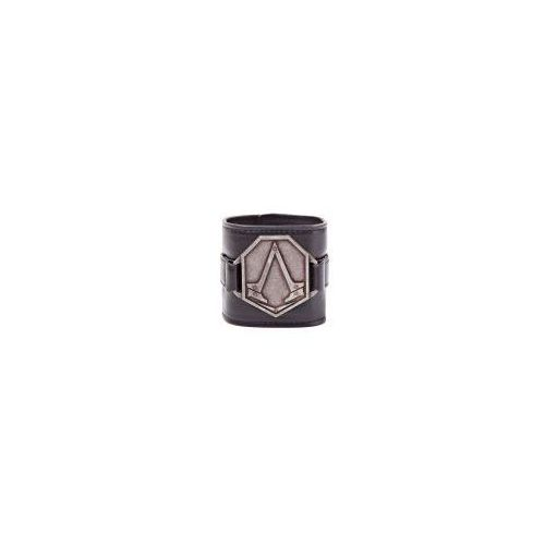 Assassin's Creed - PU Wristband with Metal Logo Patch