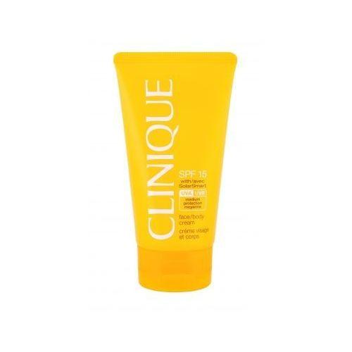 Clinique sun care face body cream spf15 preparat do opalania ciała 150 ml dla kobiet
