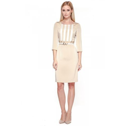 Sukienka z paskiem - POTIS & VERSO, 1 rozmiar