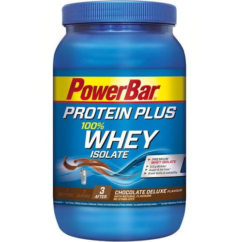 Powerbar proteinplus whey isolate 100% tub 570g, chocolate deluxe 2019 suplementy (4029679670297)