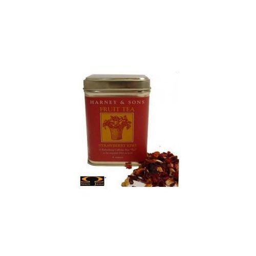 Herbata Harney & Sons Strawberry - Kiwi Owocowy Napar puszka 114g