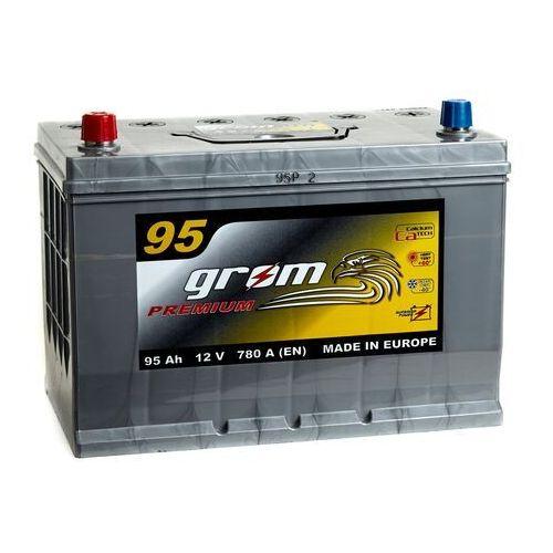 Akumulator GROM Premium 95Ah 780A Japan Lewy plus