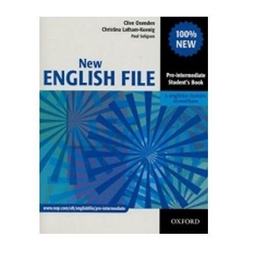 New English File Pre-intermediate Student´s Book Cz (9780194519090)