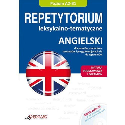 Angielski Repetytorium leksykalno-tematyczne z płytą CD, oprawa miękka