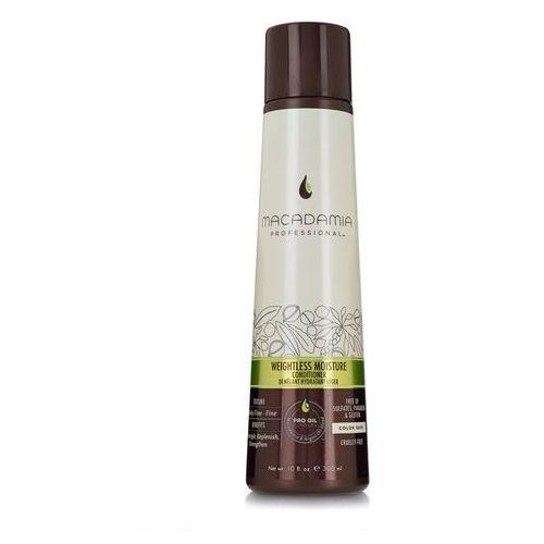 weightless moisture - nawilżająca odżywka do włosów cienkich 300ml marki Macadamia