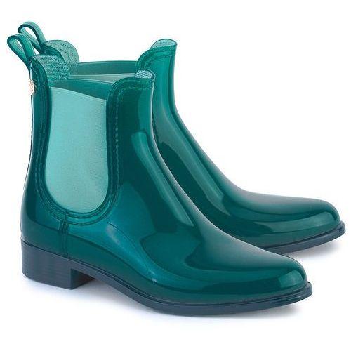 LEMON JELLY Comfy 07 - Morskie Gumowe Kalosze Damskie, kolor zielony