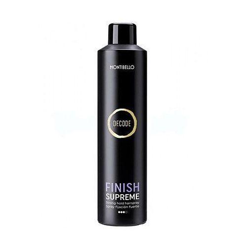 Montibello Finish Supreme, lakier utrwalający, nie skleja i nie obciąża włosów 400ml (8429525415052)